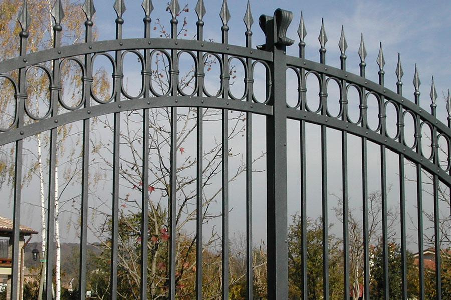 cancello in ferro classico