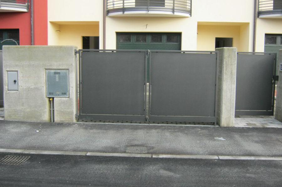 Cancelli Moderni In Ferro Battuto A Treviso Cadorin Carpenterie Srl