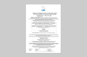 certificazioni cadorin