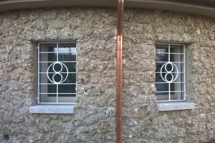 Inferriate a treviso realizzazione e posa cadorin - Grate alle finestre ...