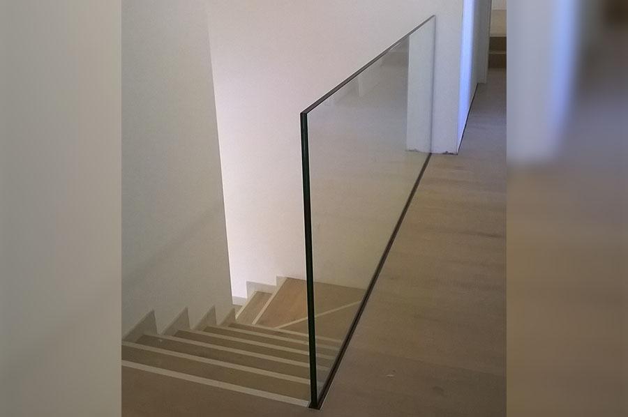 Scale interne in vetro scale in acciaio modulari with - Ringhiere in vetro per scale interne prezzi ...